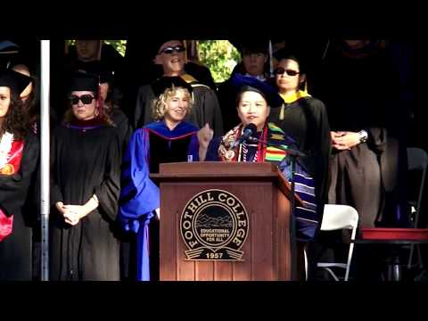 Foothill College Commencement 2017
