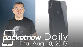 iPhone 8 unique features leaked, Galaxy Note 8 dates & more   Pocketnow Daily
