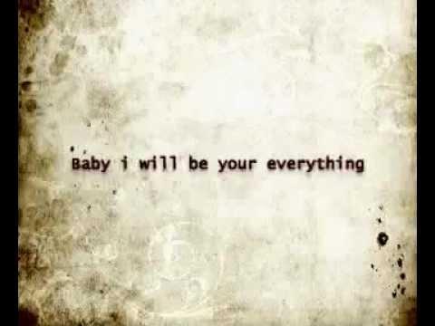Boys like girls - Be your everything lyrics