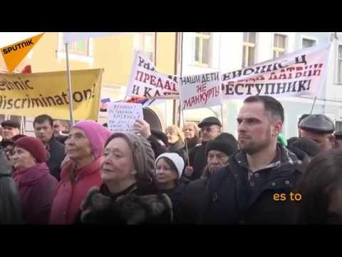 Latvia: Parents in Riga Protest Against Transfer of Schools to Latvian Language