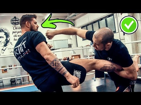 How To Beat A UFC Fighter • KRAV MAGA TRAINING