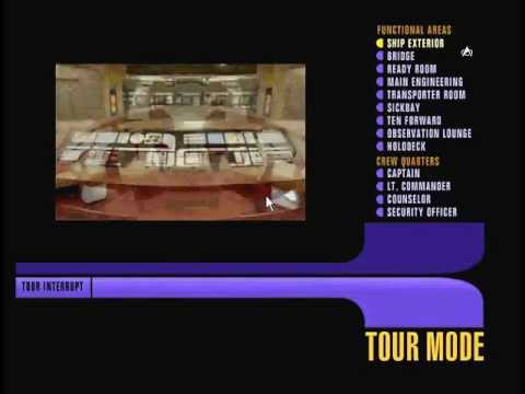 A Tour of the USS Enterprise NCC-1701-D, from the Star Trek TNG Interactive Technical Manual