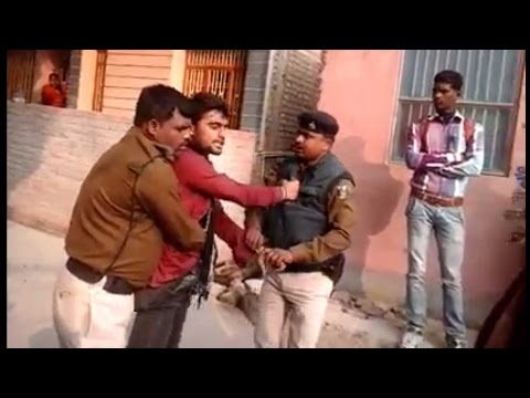 Boy Slaps Bihar cop, video goes viral