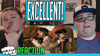 Lewis and Clark vs Bill and Ted. Epic Rap Battles of History Season 4. REACTION!! 🔥