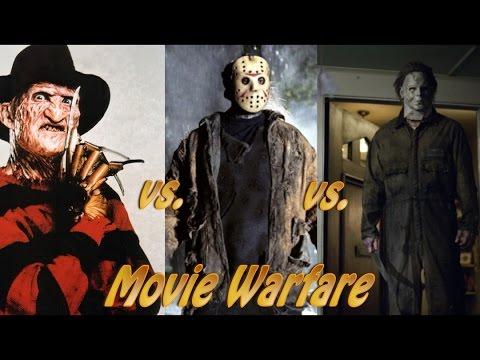 Movie Warf: Freddy Krueger . Jason Voorhees . Michael Myers ( with ...