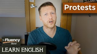 English Lesson | Vocabulary Related to Protests | Pronunciation Practice 🔥