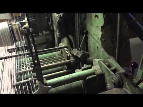 SACM-MAV Rapier weaving machine - Dog trainer fabric