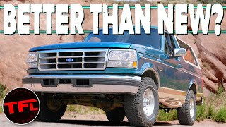 This is What The Very Last Ford Bronco Was Like In 1996 Before It Died   Dude I Love or Hate My Ride