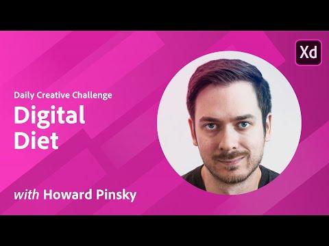 Adobe XD Daily Creative Challenge - Digital Diet thumbnail