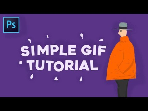 Simple GIF Animation - Photoshop Tutorial