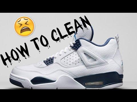 How to Clean Jordan's FT - Columbia 4s