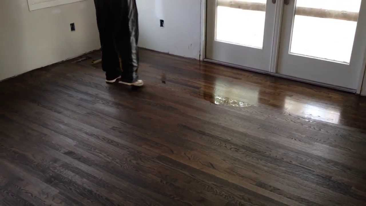 How to apply polyurethane on hardwood floors  YouTube