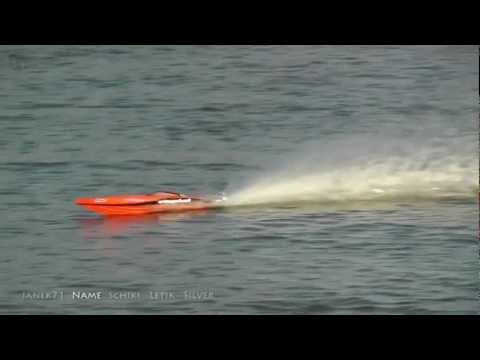 Sraz lodních modelářů Brodský 2012 jaro HD (Meeting RC offshore powerboats modellers in CZ)