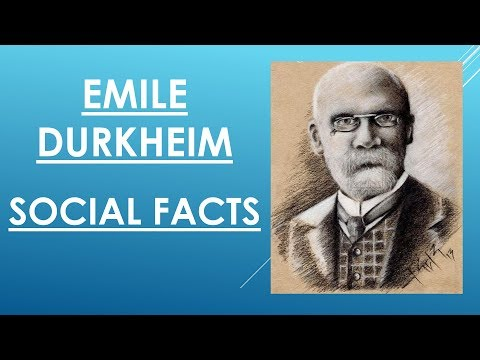 Sociology for UPSC : Durkheim - SOCIAL FACTS - Lecture 70