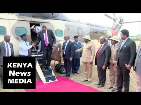 President Uhuru Kenyatta at LIVESTOCK SHOW and AUCTION in Narok!!!