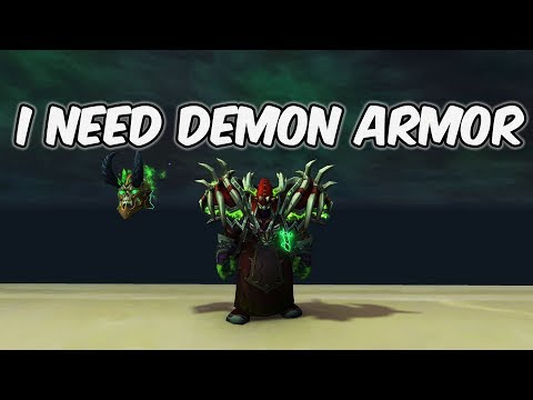 I Need Demon Armor - Demonology Warlock PvP - WoW BFA 8.1