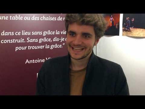 Arthur, élève comédien au Studio Muller