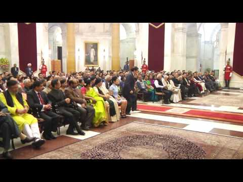 President presents second ICCR 'Distinguished Indologist' Award - 01-12-16