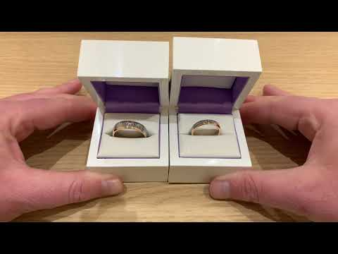 matching-pair-of-fingerprint-wedding-rings-in-18ct-white-and-rose-gold