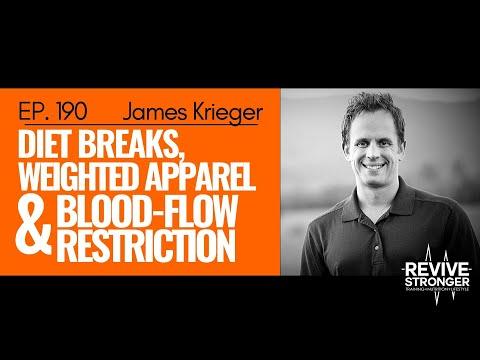 190: James Krieger - Diet breaks, Weighted Apparel & Blood-flow Restriction