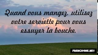 French Politeness and Good Manners 66