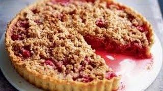 Как приготовить яблочно-сливовый крамбл. Американский пирог. Подробный видео рецепт