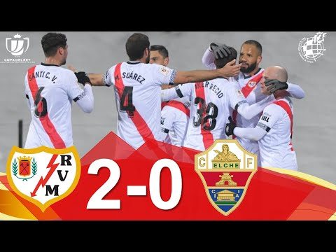Vallecano Elche Goals And Highlights