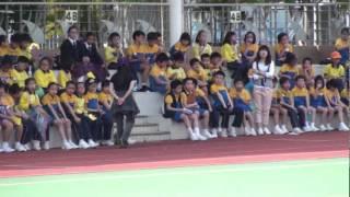 錦泰小學運動會20120329a22呂校長致辭