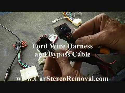 2007 ford focus car stereo wiring diagram on acids and bases ph scale lincoln mercury wire harness color codes youtube factory repair