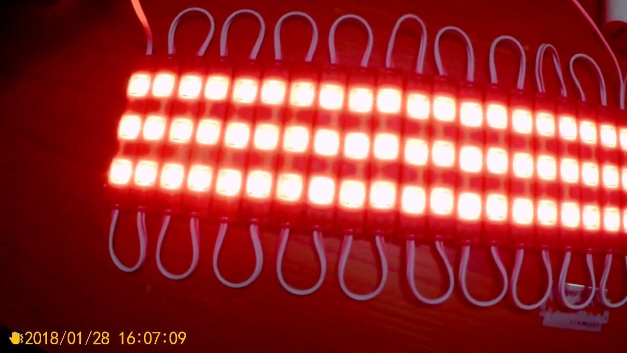 3 led strips 12v waterproof 56305730 led modules red unbox test 3 led strips 12v waterproof 56305730 led modules red unbox test aloadofball Gallery