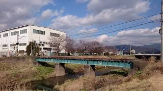 JR東日本 キヤE195系  甲種輸送①  佐奈川通過
