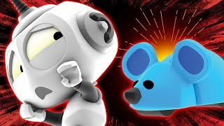 Scared ROB?! Mouse House Fun | Rob the Robot | Cartoons for Children by Oddbods & Friends