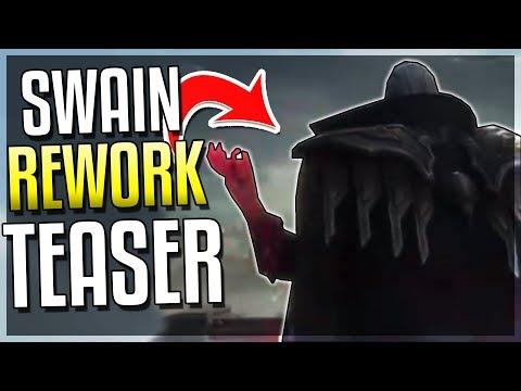 SWAIN REWORK TEASER!! New Warlock Champion - League of Legends