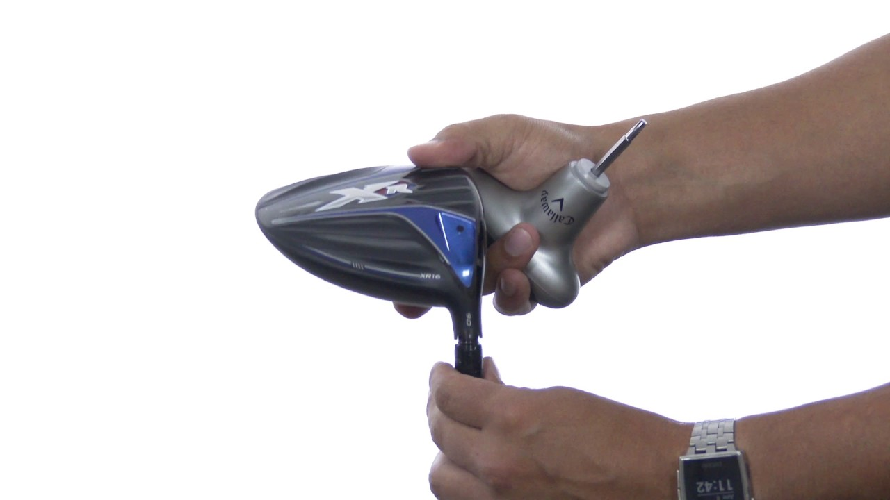 How To Adjust The Callaway Xr16 Drivers