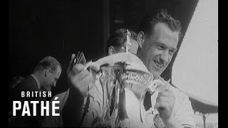 1958, FA Cup Final Highlights - Bolton v Manchester United