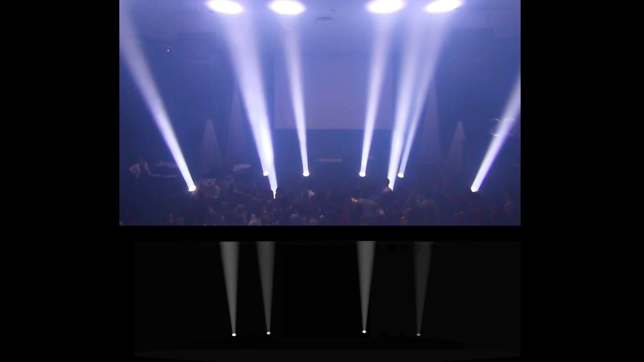 Showstarter visualizer live comparision lighting design youtube