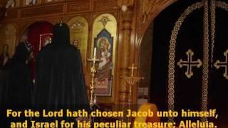 psalm 135 orthodox chant