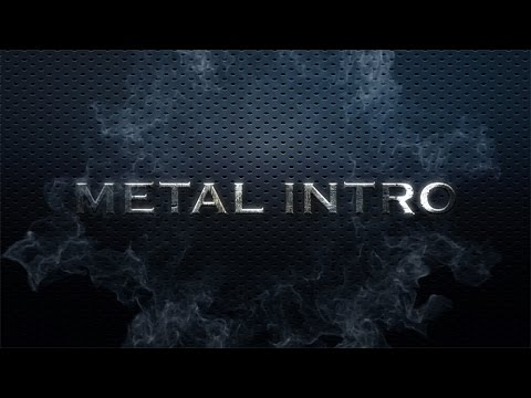 Tutorial After Effects in romana Explozie Metal text intro