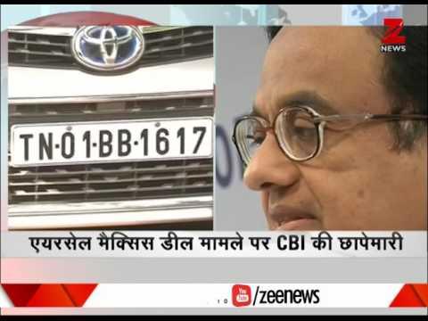 CBI raids residences of P Chidambaram, son Karti