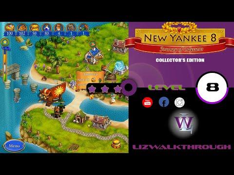 New Yankee 8 - Level 8 Walkthrough (Journey of Odysseus)  