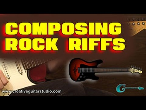 Composing Rock Guitar Riffs