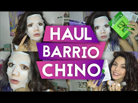 HAUL Barrio Chino con First Impression de MASCARILLA KOREANA - ARGENTINA // AZUMAKEUP
