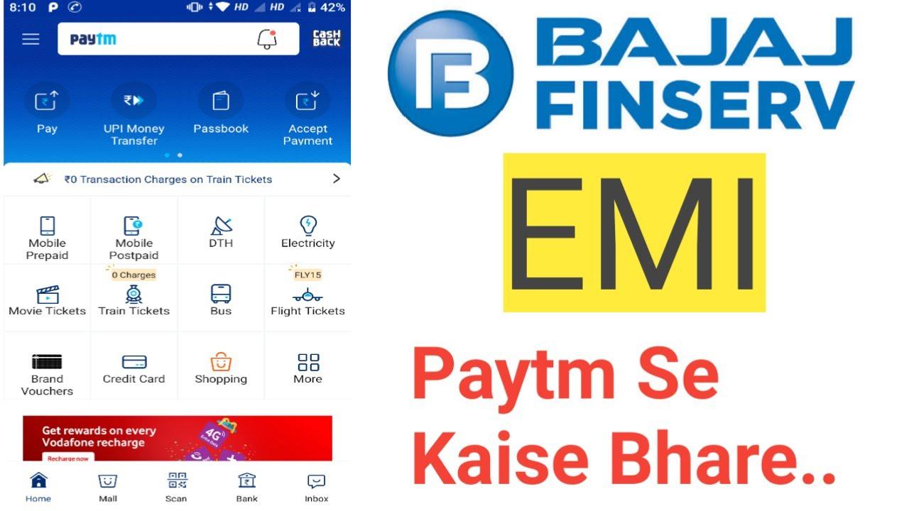How To Transfer Money From Bajaj Emi Card To Paytm