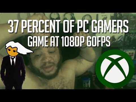 37 PERCENT OF PC GAMERS GAME AT 1080P 60FPS | Says NxtGen720