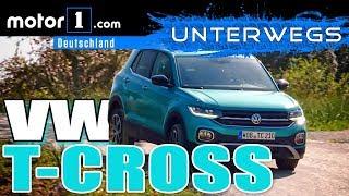 Nutzlos? Nützlich? VW T-Cross | UNTERWEGS mit Daniel Hohmeyer