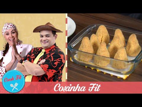 COXINHA FIT | COOK FIT | Matheus Ceará E Dani Iafelix