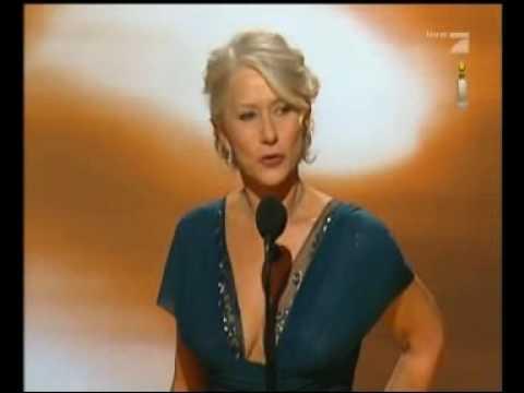 Helen Mirren & Peter Morgan GG Awards