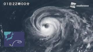 【台風5号】18日間の一生を1分で振り返る