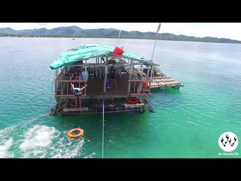 Looc Fish Sanctuary in Romblon (Aerial)