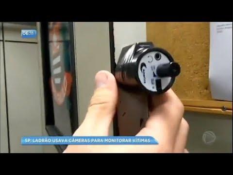 Ladrão espião usava câmeras para monitorar vítimas